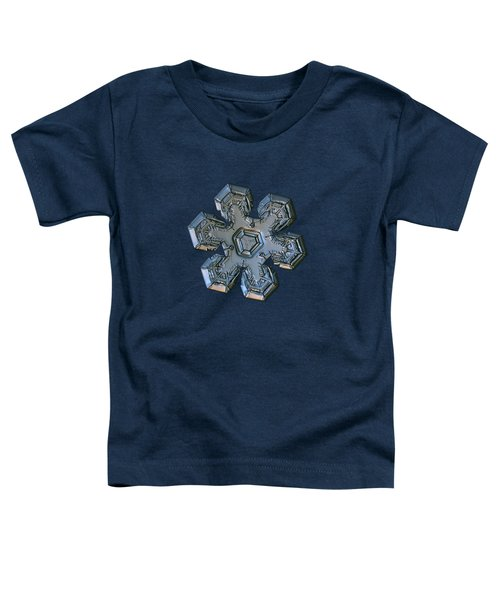 Snowflake Photo - Massive Silver Toddler T-Shirt
