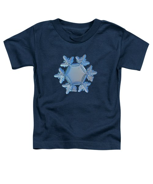 Snowflake Photo - Sunflower Toddler T-Shirt