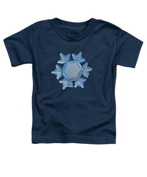 Snowflake Photo - Sunflower Toddler T-Shirt