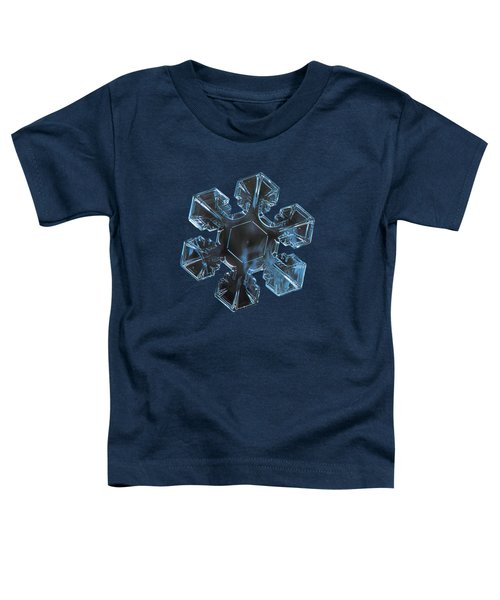 Snowflake Photo - The Core 2 Toddler T-Shirt