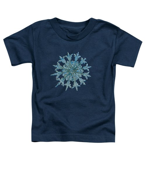Snowflake Photo - Twelve Months Toddler T-Shirt
