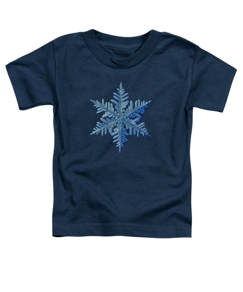 Snowflake Photo - Winter Is Coming Toddler T-Shirt
