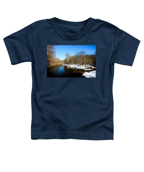 Snowy Creek Morning Toddler T-Shirt