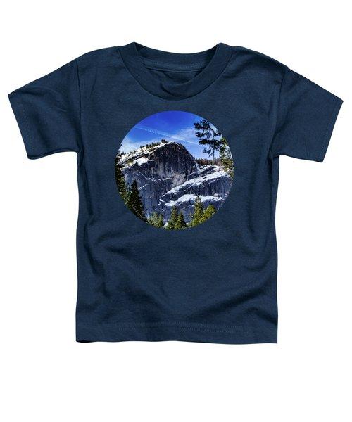 Snowy Sentinel Toddler T-Shirt by Adam Morsa