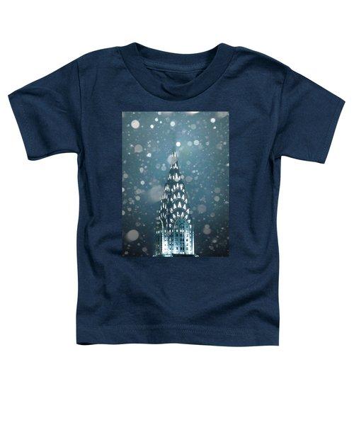 Snowy Spires Toddler T-Shirt by Az Jackson