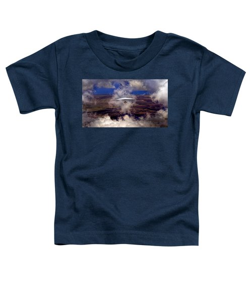 Soaring Through The Clouds Toddler T-Shirt