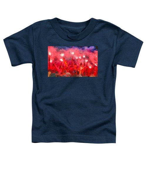 Soccer Fans Pictures Toddler T-Shirt