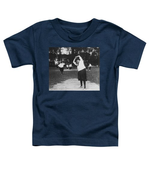 Softball Game Toddler T-Shirt by Granger