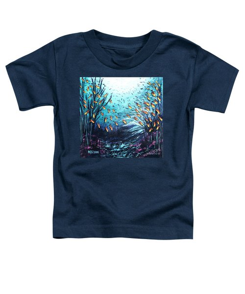 Soldier Fish And Coral  Toddler T-Shirt