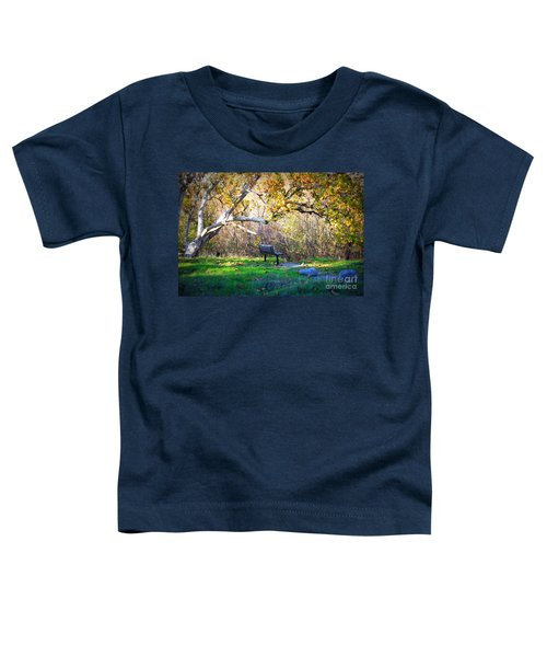 Solitude Under The Sycamore Toddler T-Shirt