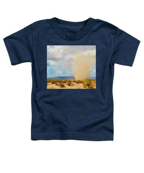 Sonoran Desert Dust Devil Toddler T-Shirt