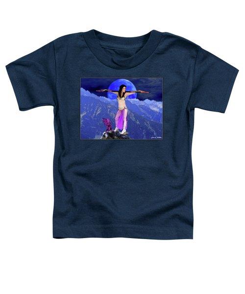 Sorceress And Her Familar Toddler T-Shirt