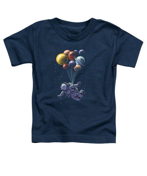 Space Travel Toddler T-Shirt