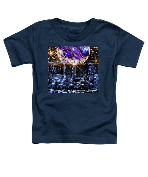 Sparkling Glass Toddler T-Shirt