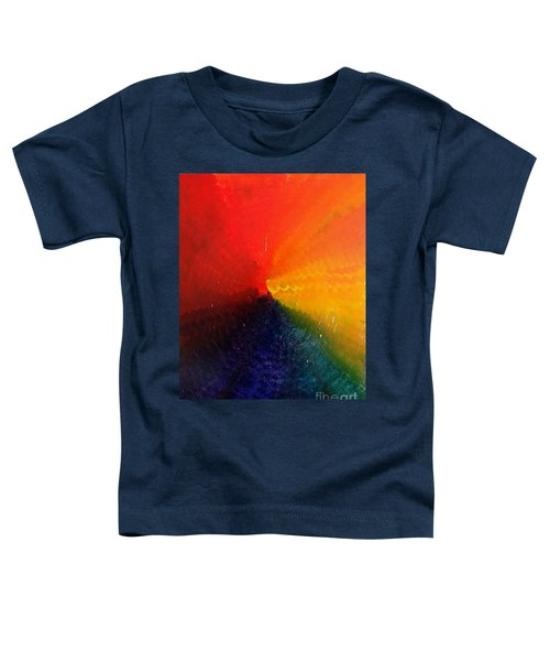 Spectral Spiral  Toddler T-Shirt