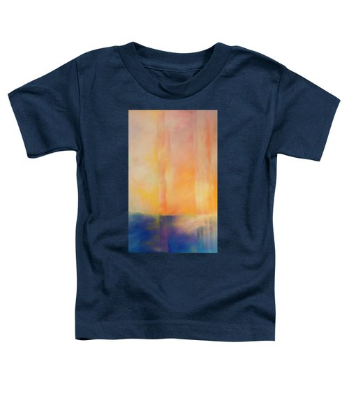 Spectral Sunset Toddler T-Shirt