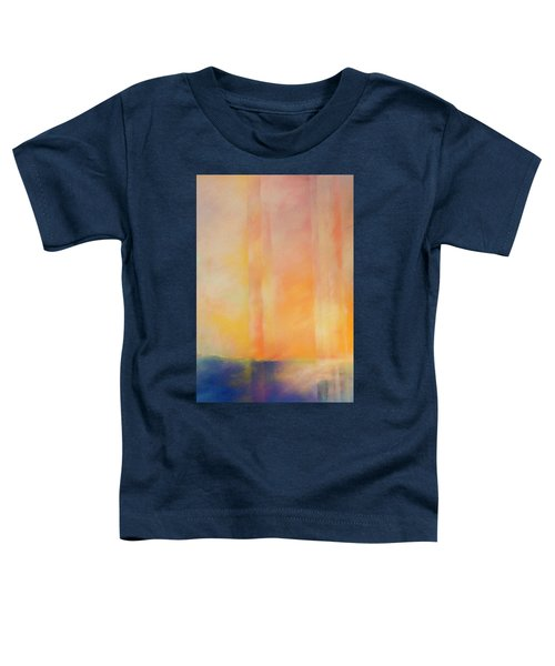 Spectral Sunset Toddler T-Shirt