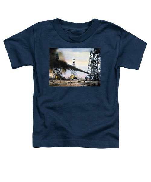 Spindletop Oil Pool, C1906 Toddler T-Shirt