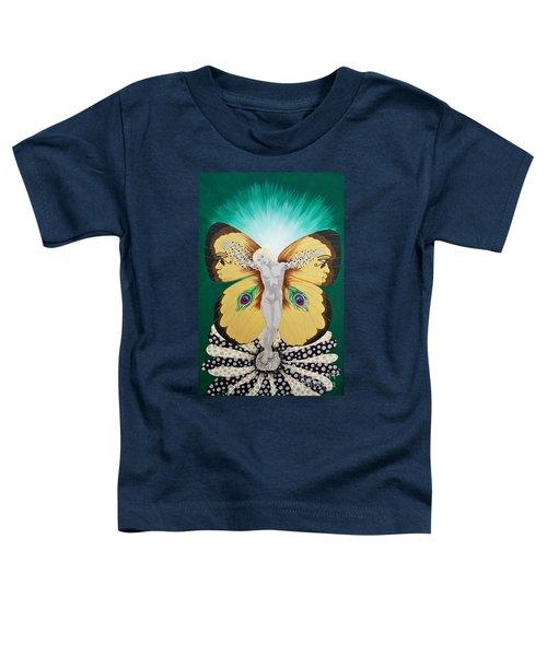 Blaa Kattproduksjoner             Spirit Of Aurelias Flight Toddler T-Shirt