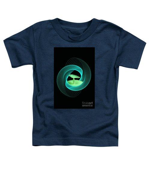 Spirograph Water Drop Toddler T-Shirt