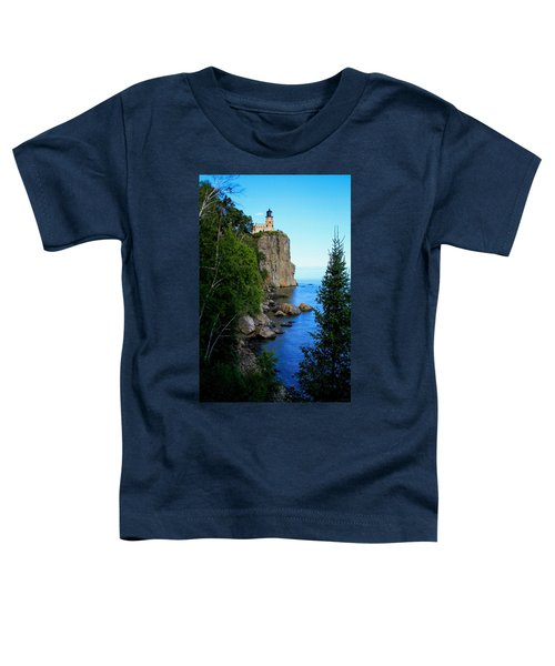 Split Rock Lighthouse Toddler T-Shirt