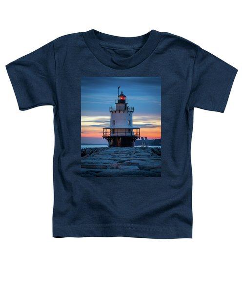 Spring Point Ledge Light Blue Hour II Toddler T-Shirt