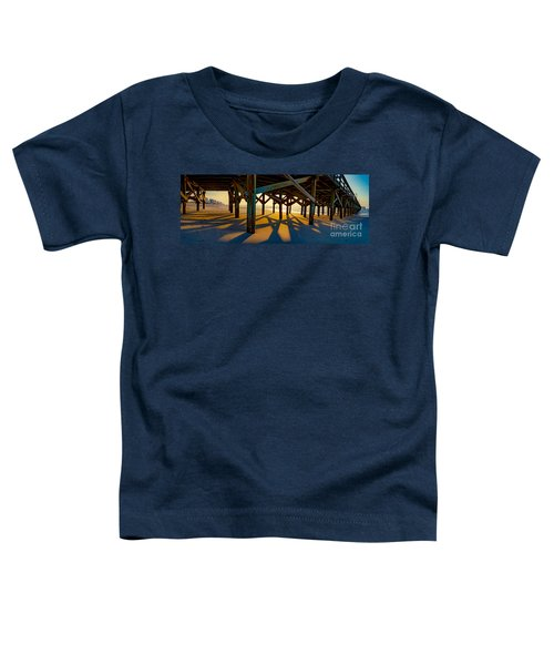 Springmaid Pier At Sunrise Toddler T-Shirt