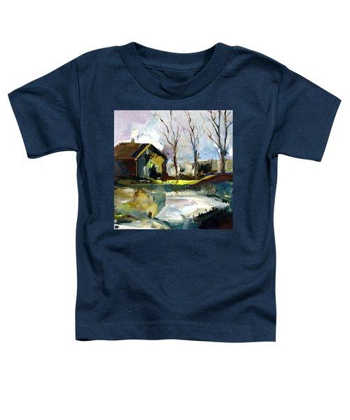 Springtime Barn Toddler T-Shirt