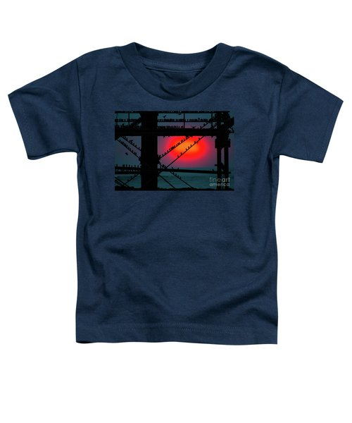 Starlings Against The Setting Sun Toddler T-Shirt