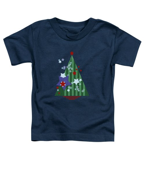 Stars And Stripes - Christmas Edition Toddler T-Shirt by AugenWerk Susann Serfezi