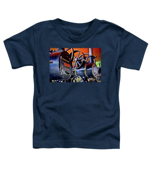Steam Engines - Locomobiles Toddler T-Shirt