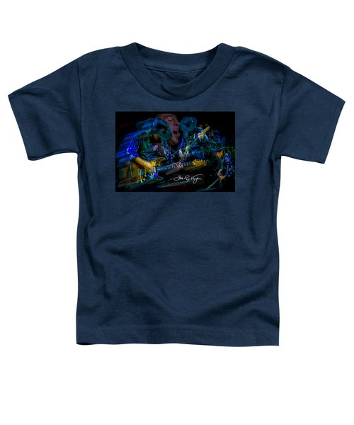 Stevie Ray Vaughan - Double Trouble Toddler T-Shirt