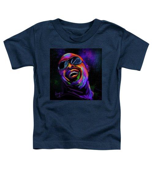 Stevie Wonder Toddler T-Shirt