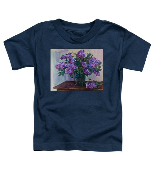 Still Life With Lilac  Toddler T-Shirt