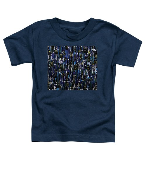 Stormy Night In The City Toddler T-Shirt