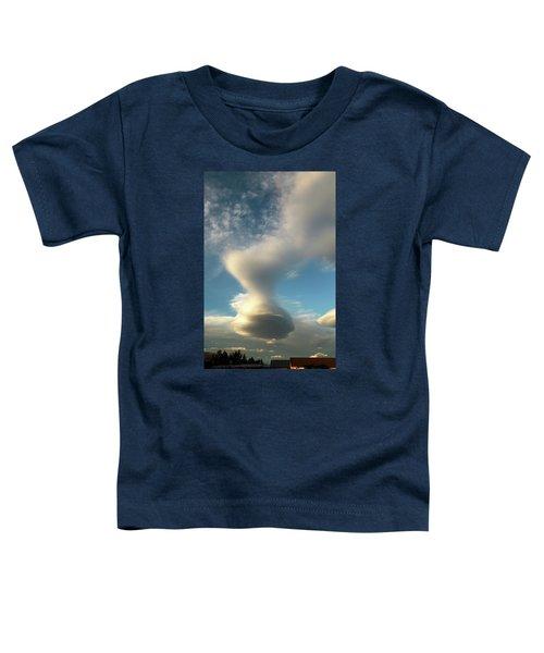 Strange Cloudform Toddler T-Shirt by Nareeta Martin
