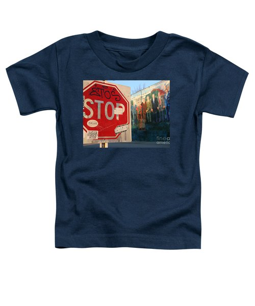 Street Art Washington D.c.  Toddler T-Shirt by Clay Cofer