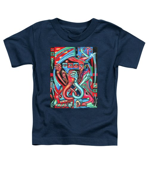 Striving For An Equilibrium Toddler T-Shirt