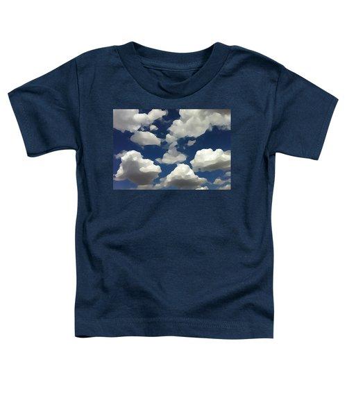 Summer Clouds In A Blue Sky Toddler T-Shirt