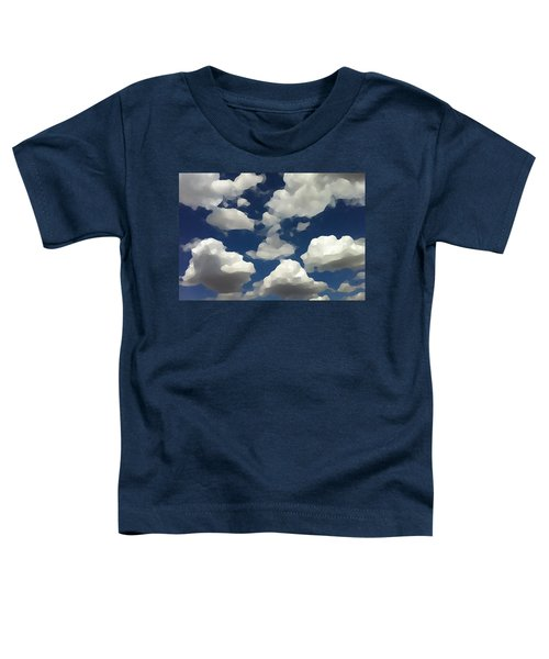 Summer Clouds In A Blue Sky Toddler T-Shirt