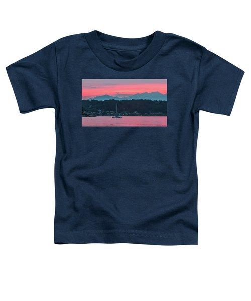 Summer Sunset Over Yukon Harbor.5 Toddler T-Shirt