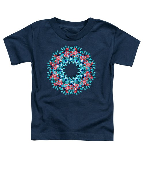 Summer Wreath Toddler T-Shirt by Mary Machare