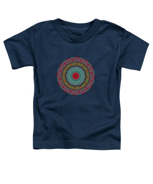 Sunflower Mandala Toddler T-Shirt