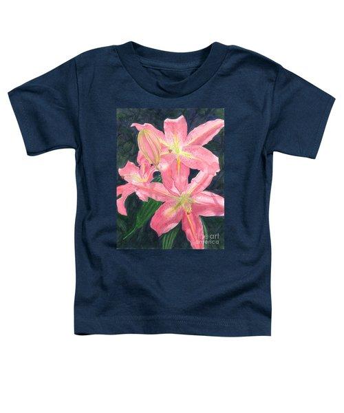 Sunlit Lilies Toddler T-Shirt