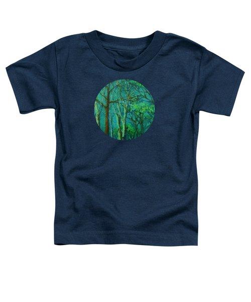 Sunlit Woodland Path Toddler T-Shirt