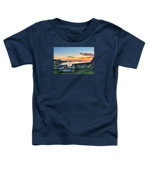 Sunrise At Castle Rock Marblehead Ma Toddler T-Shirt