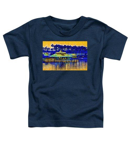 Sunrise At The Boat Dock Toddler T-Shirt