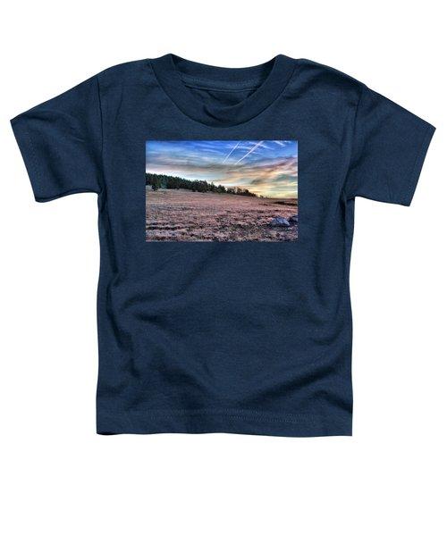 Sunrise Over Ft. Apache Toddler T-Shirt