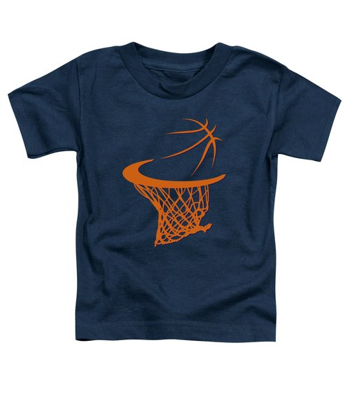 Suns Basketball Hoop Toddler T-Shirt by Joe Hamilton