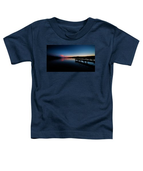 Sunset At The Pier Toddler T-Shirt